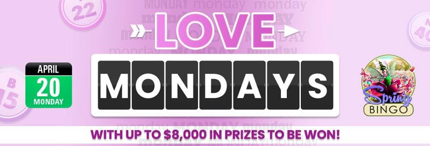 Bingo Fest 2020 Love Mondays