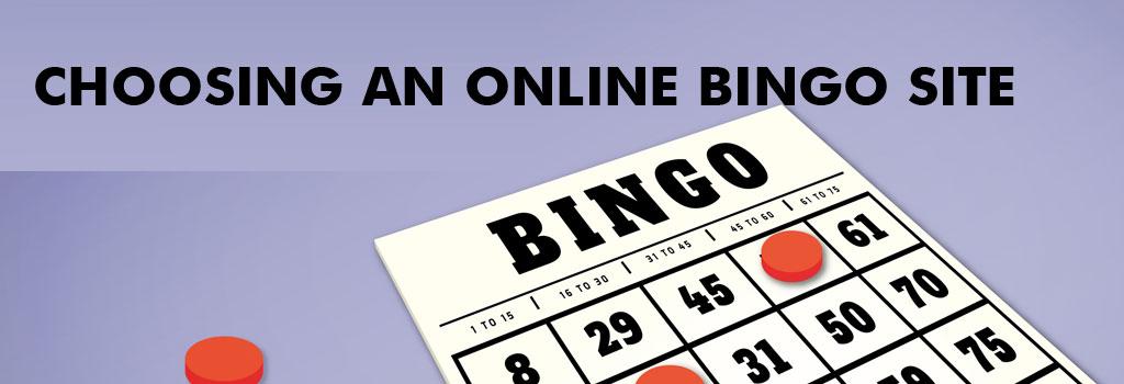 Choosing Bingo Site