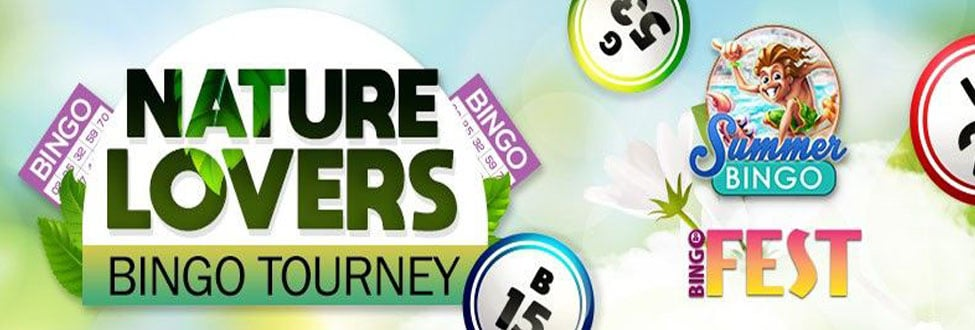 Score Wild Wins in Nature Lovers Bingo Tourney at Bingo Fest September 2020