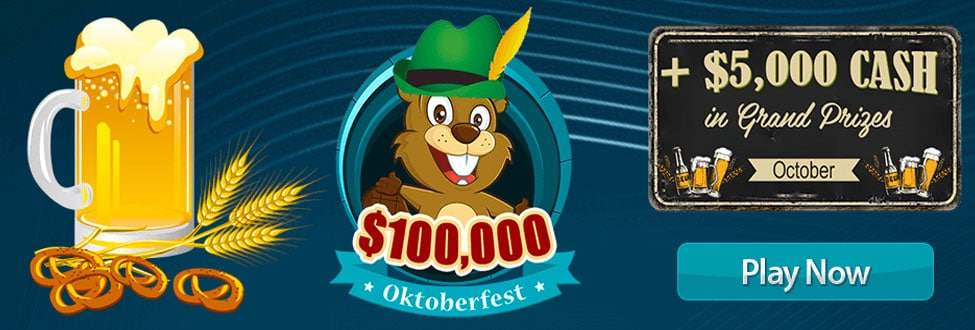 $100,000 Oktoberfest 2020 at Canadian Dollar Bingo