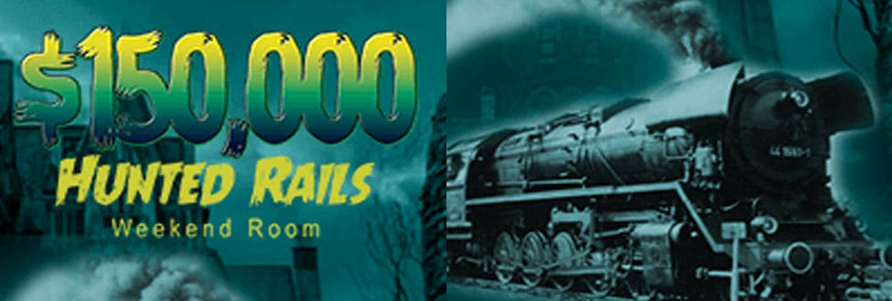 $150,000 Haunted Rails Weekend Room October 2020