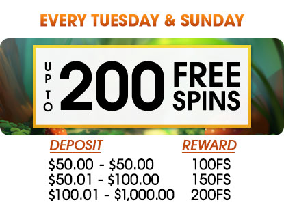 The bonus is only valid for yourfirst deposit of the day