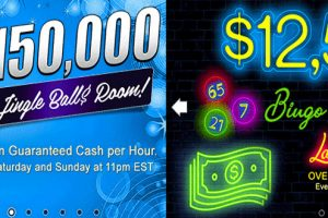 OVER $25,000 in GUARANTEED CASH JACKPOTS to be won
