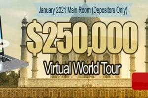 250,000 Virtual World Tour – January 2021