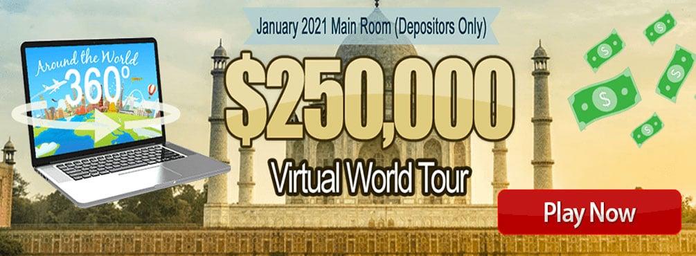 250,000 Virtual World Tour - January 2021