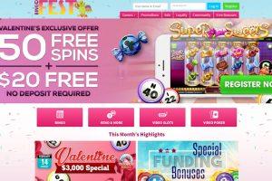 Bingo Fest No Deposit Bonus – a $20 No Deposit Bonus to all new members