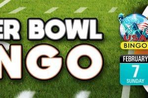 Be a winner in Bingo Fest Super Bowl Bingo!