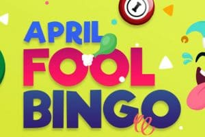 April Fool Bingo Join in the April Fool Fun every Thursday!