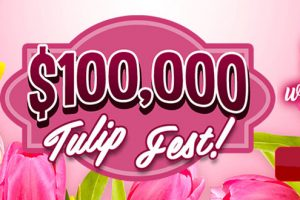 $100,000 Tulip Fest – The jackpots are in full bloom at Canadian Dollar Bingo