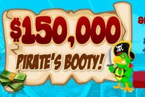 $150,000 Pirates Booty! – May 2021 Best Performance at Amigo Bingo